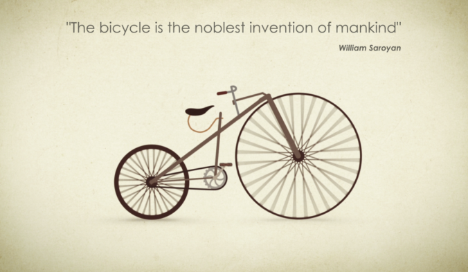 invention of bike