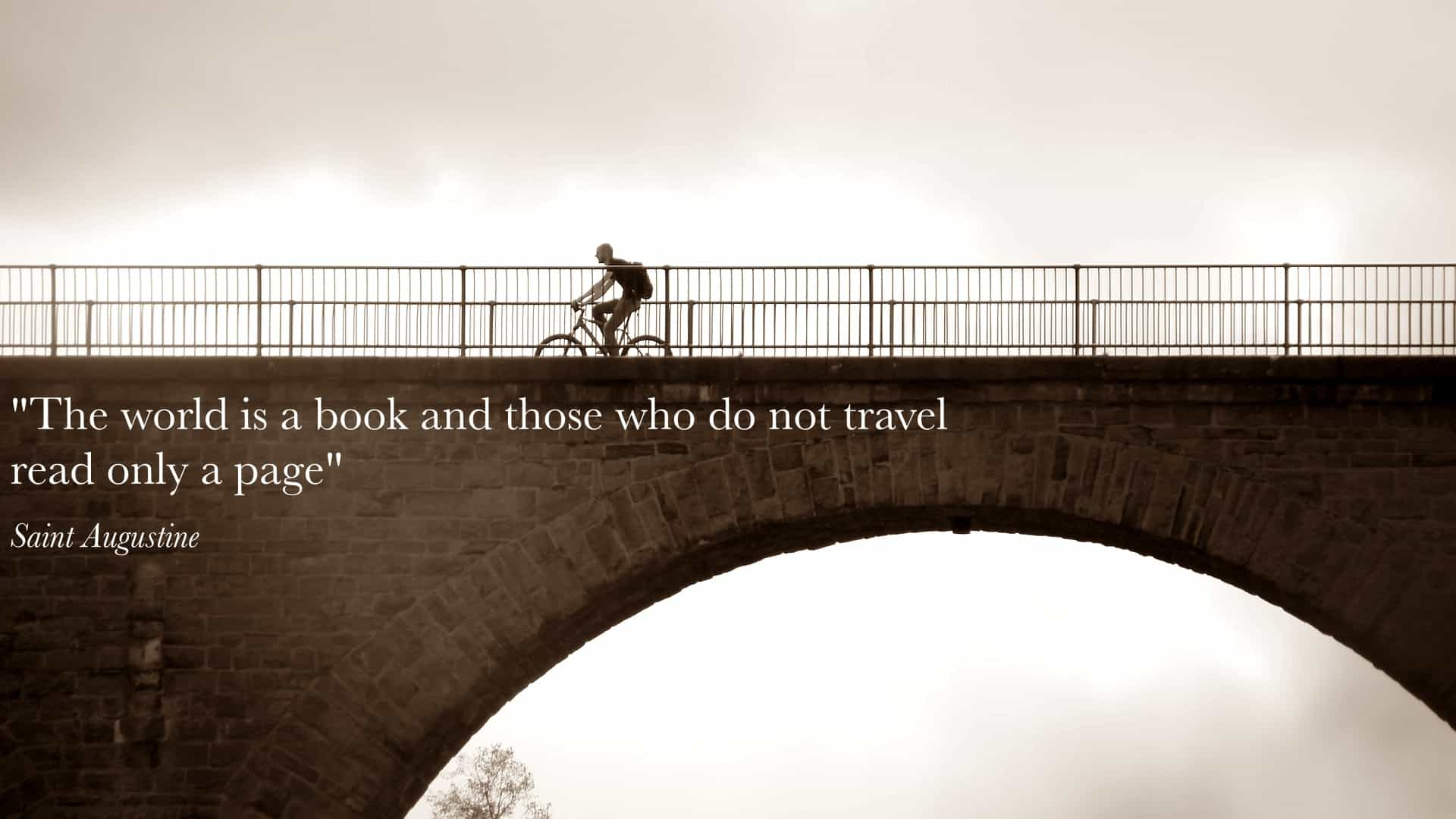 Would you like to travel around the world by cycling?