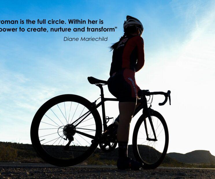 female cycler